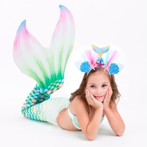 The Little Mermaid Party Decor Girl Headbang Birthday Party Decor Kids Mermaid Birthday Decor Supplies Mermaid Theme Party Favor