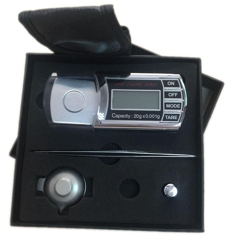 20g 0,001g LCD Cyfrowy miligram Gramowa skala kieszonkowa Mini - Przyrządy pomiarowe - Zdjęcie 6