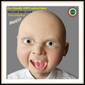 Hot Sale New Design Halloween Lovely Happy Baby Mask, Party Mask, Latex Smile Baby Mask, Kids Mask free shipping