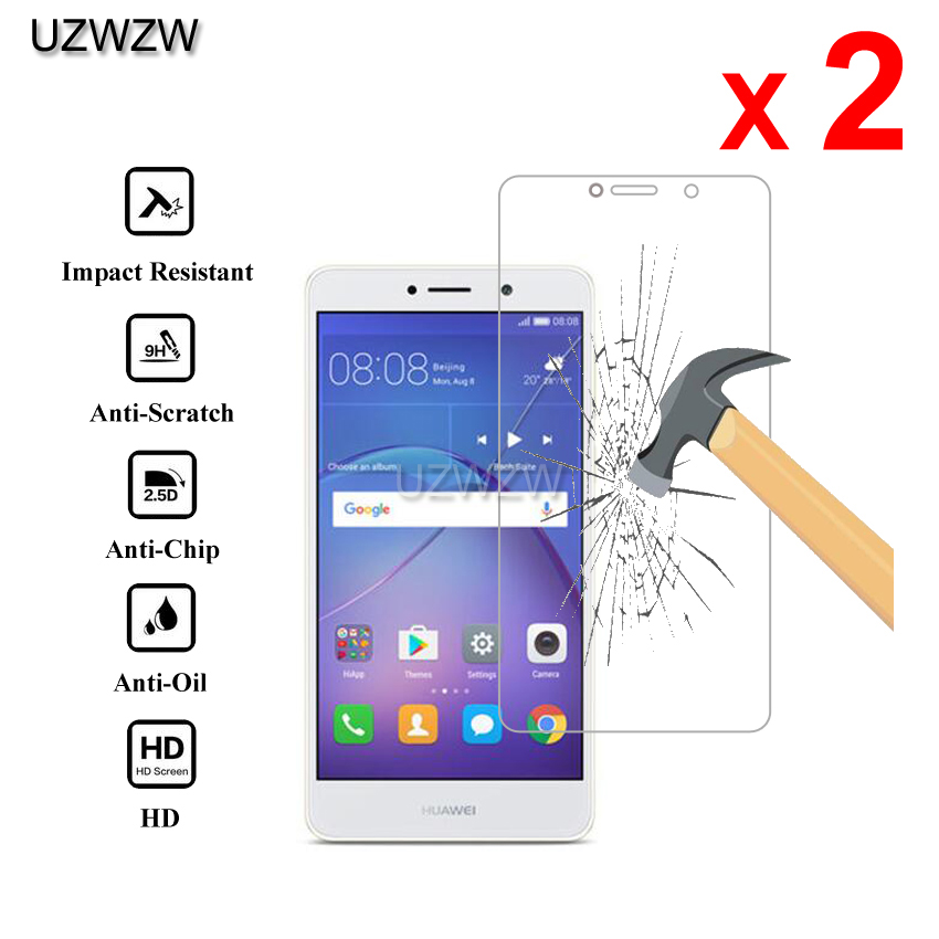 2pcs For Huawei GR5 2017 Premium 2.5D 0.26mm Tempered Glass Screen Protector For Huawei GR5 2017 Protective Glass