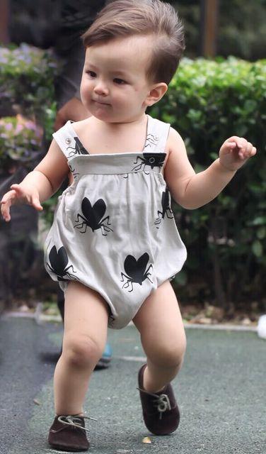 1-3 ATACADO 2016 DOS DESENHOS ANIMADOS do bebê meninos meninas roupas de BEBÊ roupas de bebe fille garcon ALGODÃO BODYSUITES BEAU ADORA MESMO KIKIKIDS