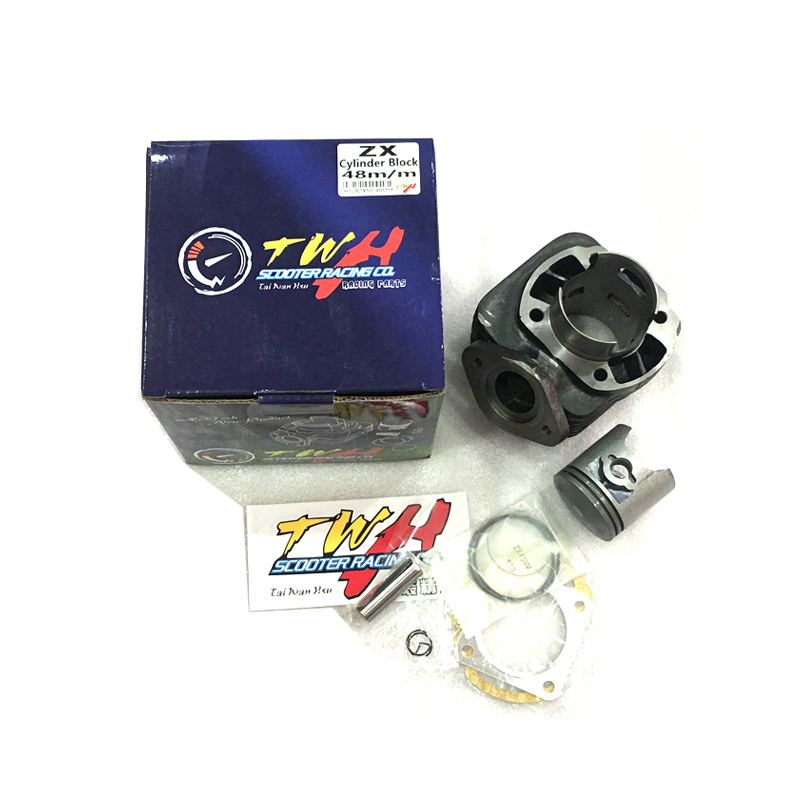TWH Modification Big Bore Cylinder Kit Cylinder Head Cap for Scooter Honda DIO 50 DIO50 ZX