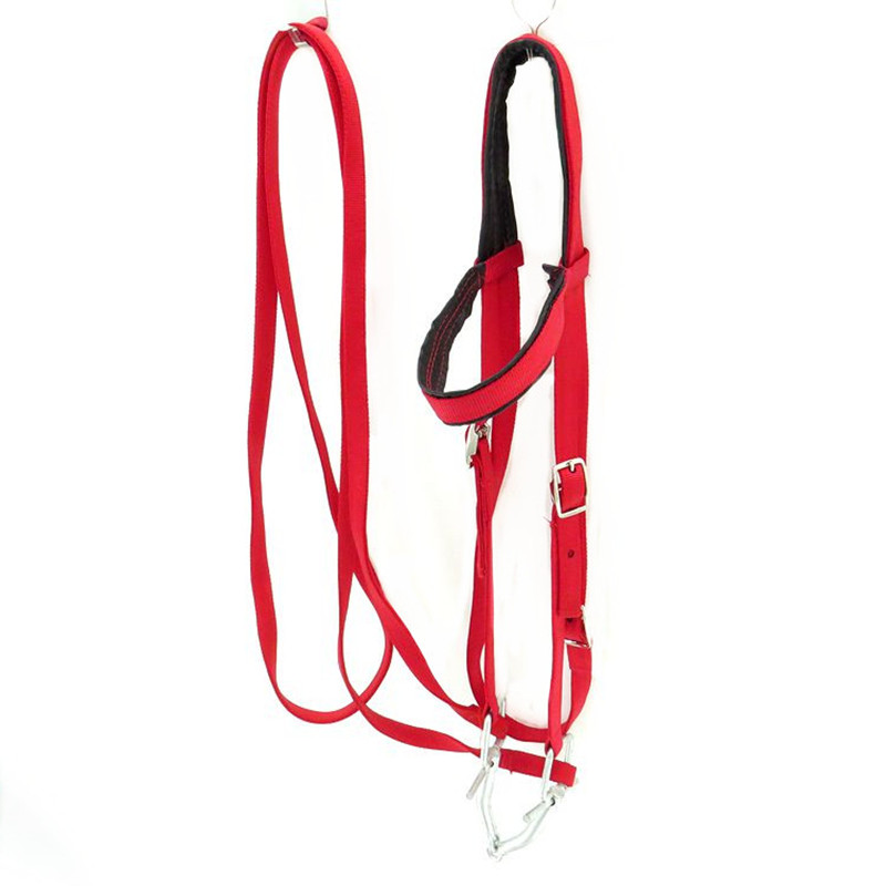 Thickened Equestrian Accessories Bridle Halter Horse Riding Equipment Competitions Game Western Horses Racing Reins