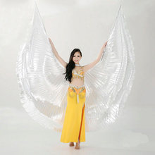 Hot Belly Dance Isis Wings Oriental Design New Wings without Sticks 9 colors hot sale(China)