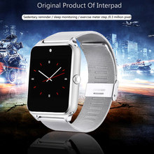 New Steel Smart Watch Android, Support SIM, TF Card, For Xiaomi Huawei, Bluetooth Connectivity