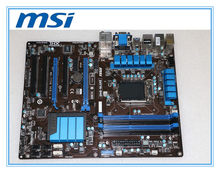 MSI original motherboard ZH77A-G43 LGA 1155 DDR3 for i3 i5 i7 cpu 32GB USB3.0 SATA3 H77 Desktop motherboard Free shipping(China)