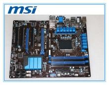 MSI original motherboard  ZH77A-G43 LGA 1155 DDR3 for i3 i5 i7 cpu 32GB USB3.0 SATA3 H77 Desktop motherboard Free shipping