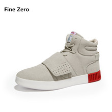 Fine Zero man winter warm plush high top sneakers Men's Skateboarding Athletic Shoes male spring autumn sports outdoor flats