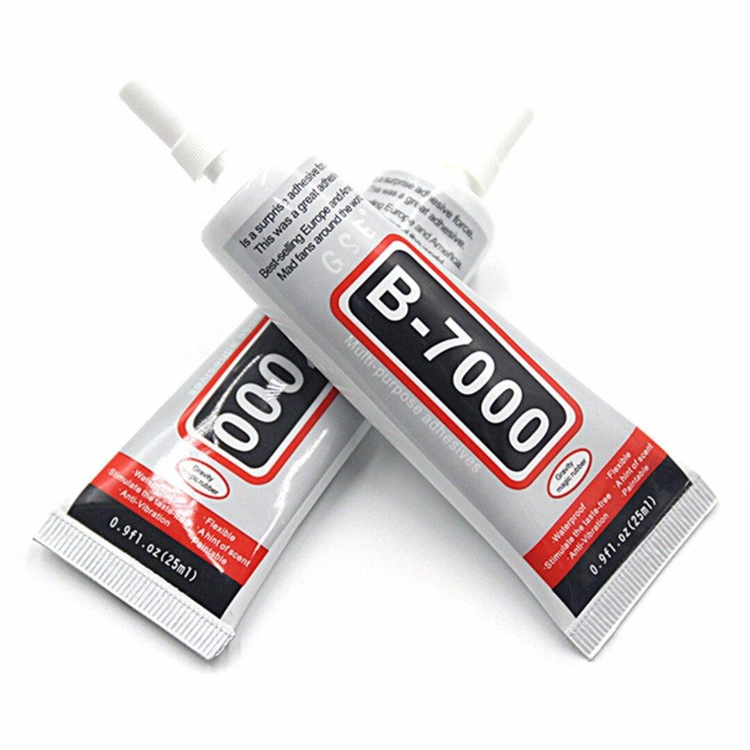 1 шт. B7000 25 мл горный хрусталь Клей эпоксидная смола прозрачный полужидкие супер клей герметик для ювелирных изделий Стекло кожа пластмасс