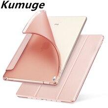 Для iPad чехол из искусственной кожи Magentic Smart Cover Мягкий ТПУ задняя крышка для нового iPad 9,7 A1822 A1893 чехол для планшета