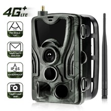 Suntekcam HC-801LTE 4G Hunting Camera 16MP 64GB Trail IP65 Photo Traps 0.3s MMS/SMS/SMTP/FTP Wild HC-800A Upgraded