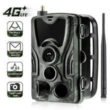 Suntekcam HC-801LTE 4G охоты Камера 16MP 64 GB Trail Камера IP65 фото ловушки 0,3 s MMS/SMS/SMTP/FTP дикий Камера HC-800A обновлен