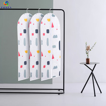 EIEYO Printing Must-have Home Waterproof Garment Bag Clothes Suits Dust Cover Bags Storage Protector Organizer