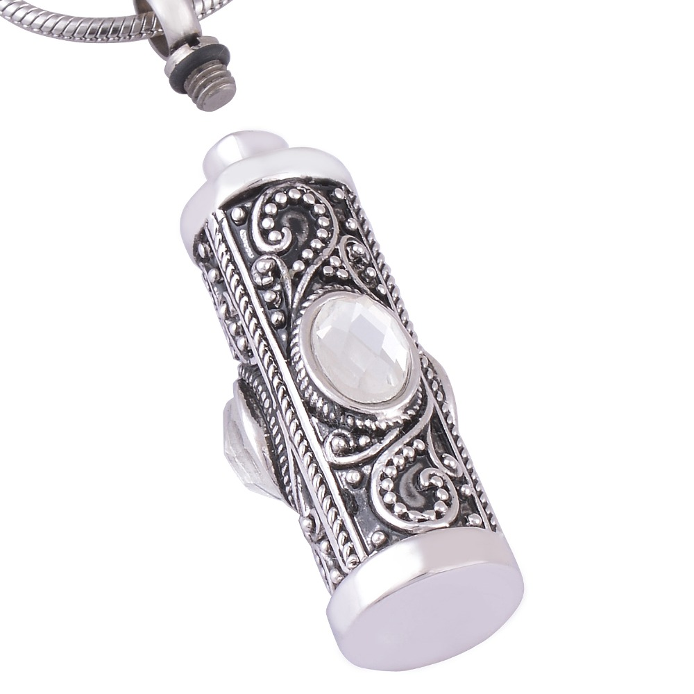 Cremation necklace antique silver memorial keepsake ashes urn cremation necklace antique silver memorial keepsake ashes urn pendant jewelry in pendants from jewelry accessories on aliexpress alibaba group mozeypictures Image collections