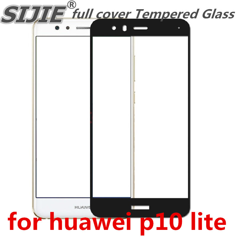 full cover <font><b>Tempered</b></font> <font><b>Glass</b></font> for huawei p10 lite P10lite nova novalite 2017 5.5 inch Screen Protective display case frame all edge image
