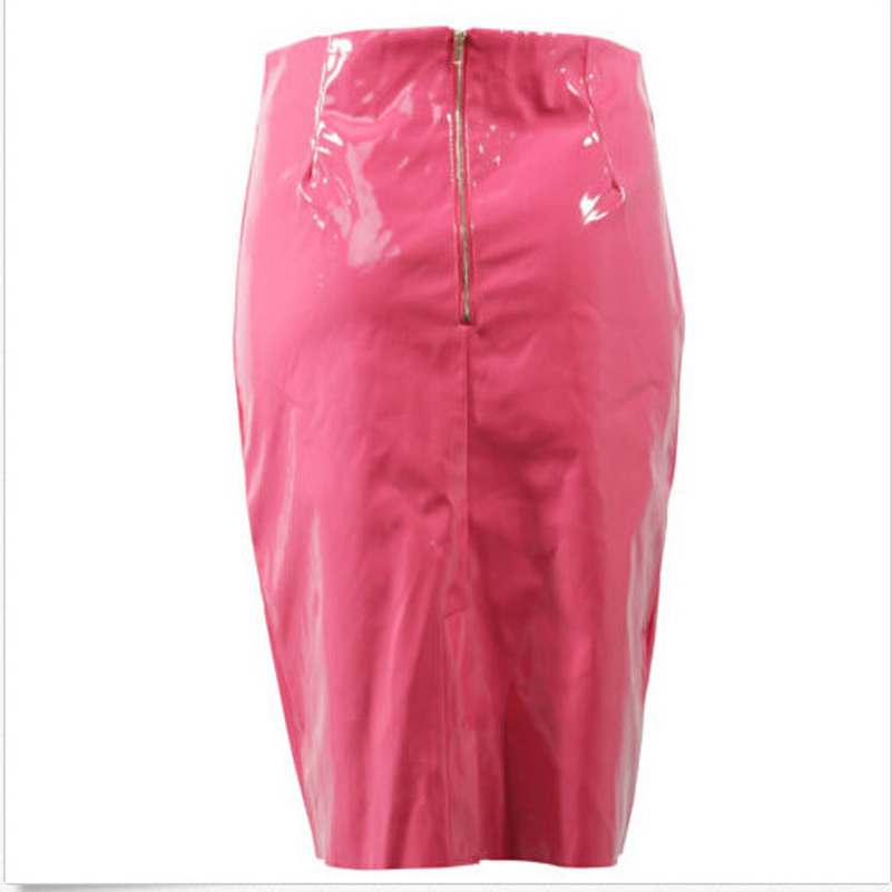df009b7847 Ladies Celebrity Shiny PVC Wetlook Womens Bodycon Vinyl Pencil Midi Party  Skirt WF 6006-in Skirts from Women's Clothing on Aliexpress.com | Alibaba  Group