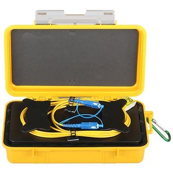 цена на Fiber Optic OTDR Launch Cable Box SM 1310/1550nm SC/UPC-SC/UPC