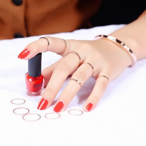 Fashion Simple Smooth Stainles