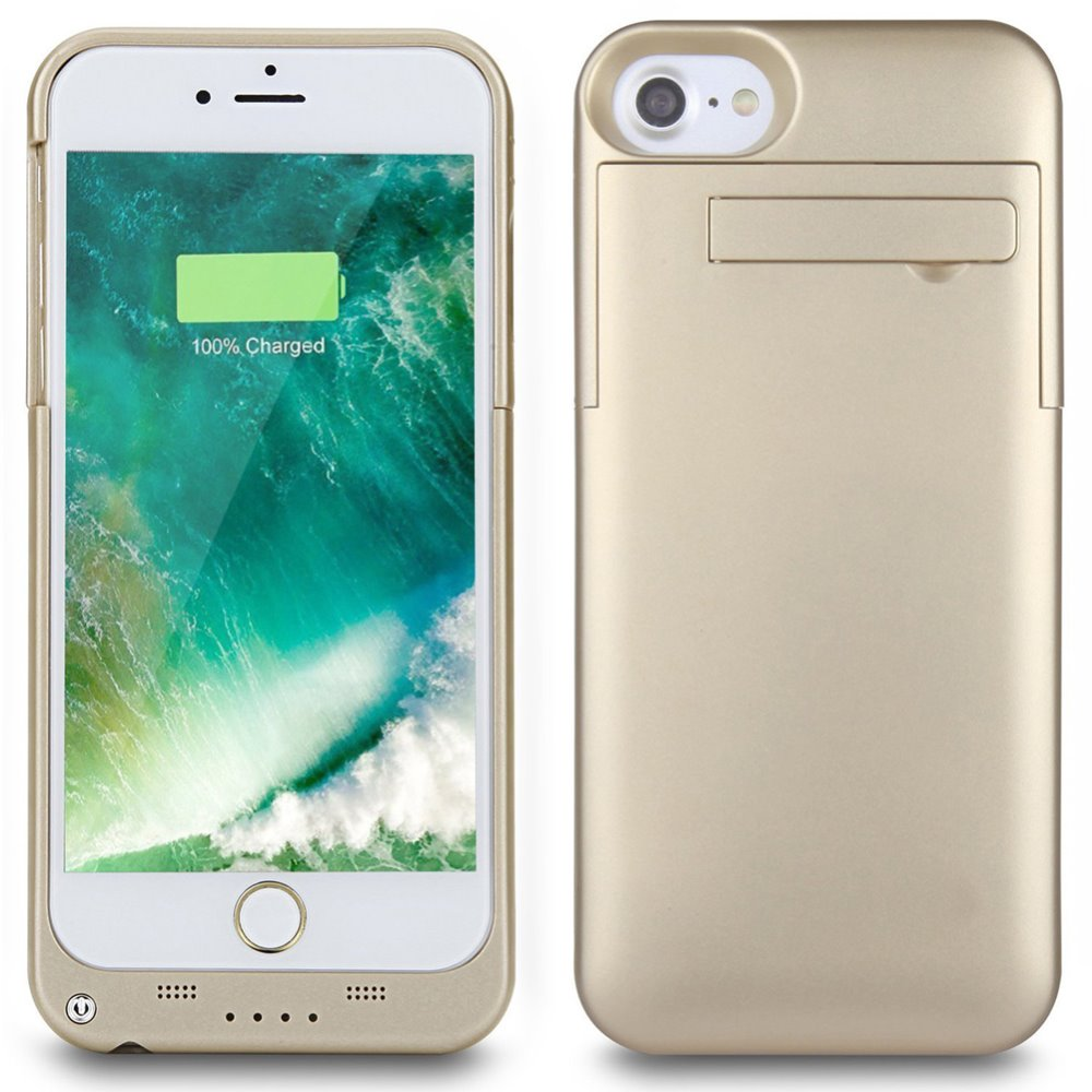 Sale Backup 3200mAh Battery Case For iPhone 6 6S 4.7inch External Portable Backup Charge Power Bank Cover Freeshipping-Gold