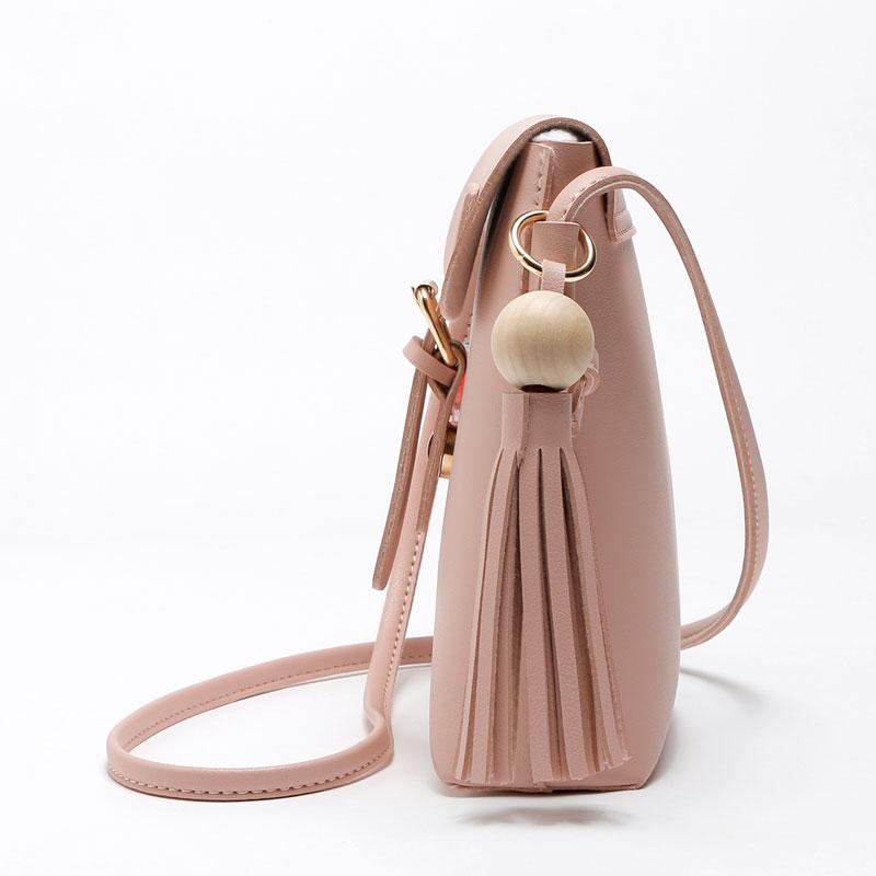 REPRCLA Fashion Tassel Shoulder Bags PU Կաշի Կանանց - Պայուսակներ - Լուսանկար 4