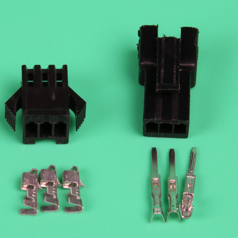 50 Sets Car SUV 2.8mm 2 3 4 6 9 Pin Electrical  Wire Cable Crimp Connectors Kit