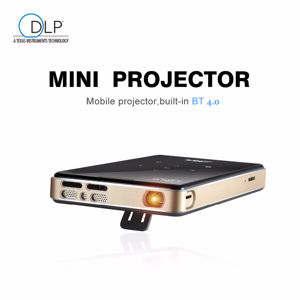 P09 dlp mini projector 2G 16G amlogic S905X 4K 2.4G 5.8G Wifi BT4.0 Home theater Smart android pocket projector proyector p8 smart mini dlp projector gold