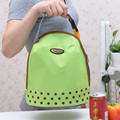 Casual Lunch Bag Container Tote Thermal Insulated Cooler Dining Travel Picnic Bag Portable Bento Pouch Zipper