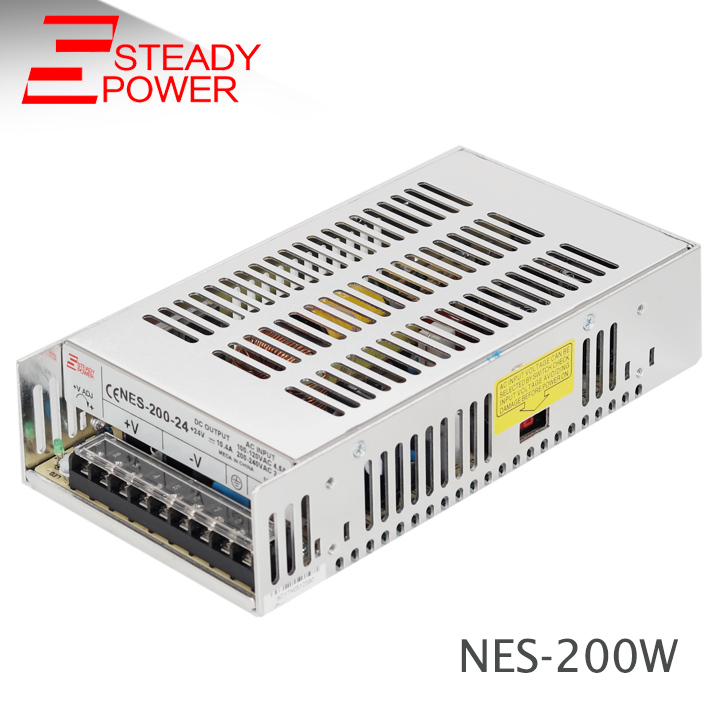 (NES-200-12) 200w 250w psu  12v 16a / 24v without cooling fan power supply lizard сандали nes 35 fire