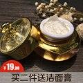 Puro hecho a mano natural de cuidado de la piel crema perla ginseng blanqueamiento protector solar aislamiento corrector en crema crema de maquillaje lady lazy