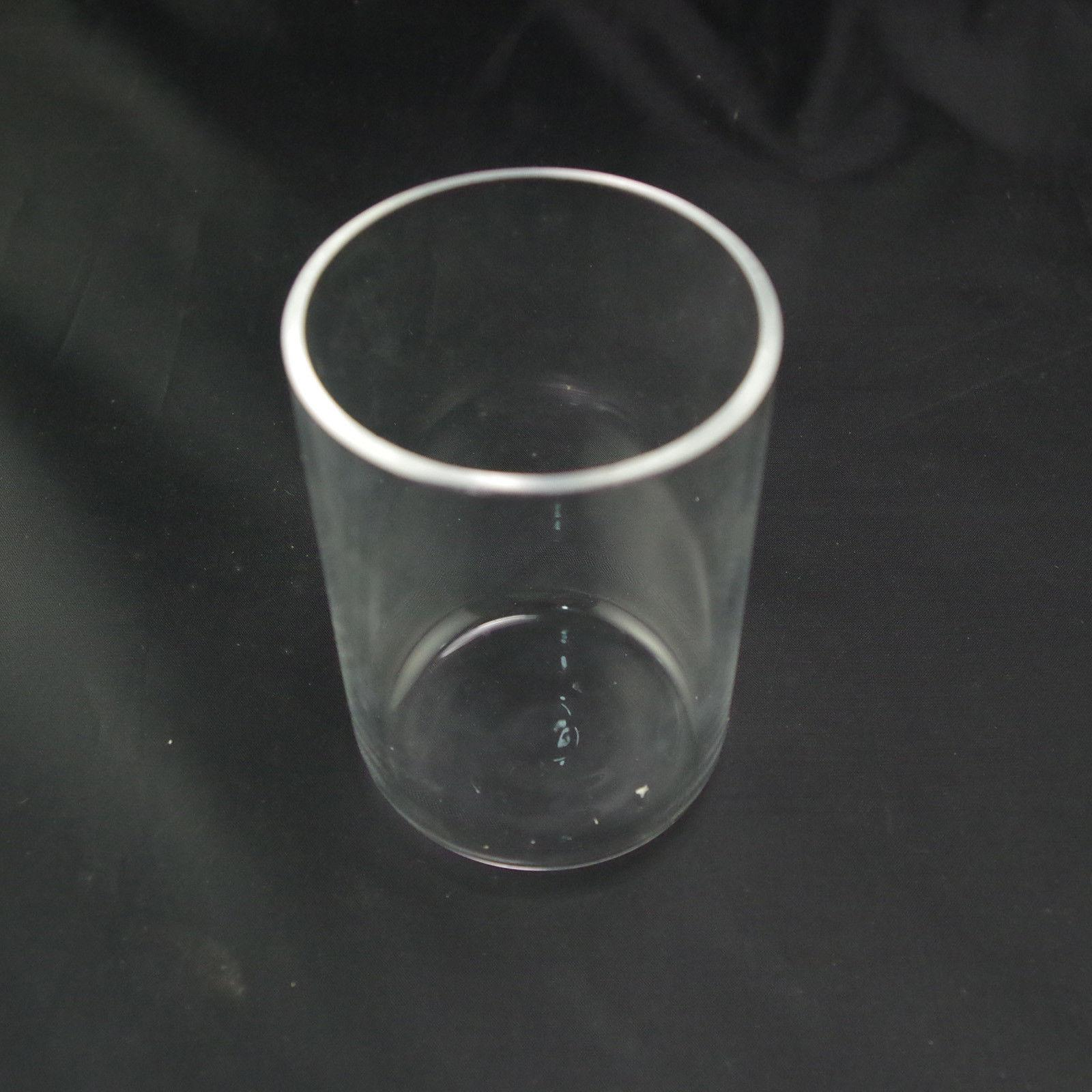 100ml Quartz Crucible 99.9% SiO2 Silica Crucible 2mm Thickness Melting Point: 1750 Degree C