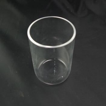 Crisol de cuarzo de 100 ml, crisol de sílice SiO2 99.9%, punto de fusión de 2mm de espesor 1750 grados C