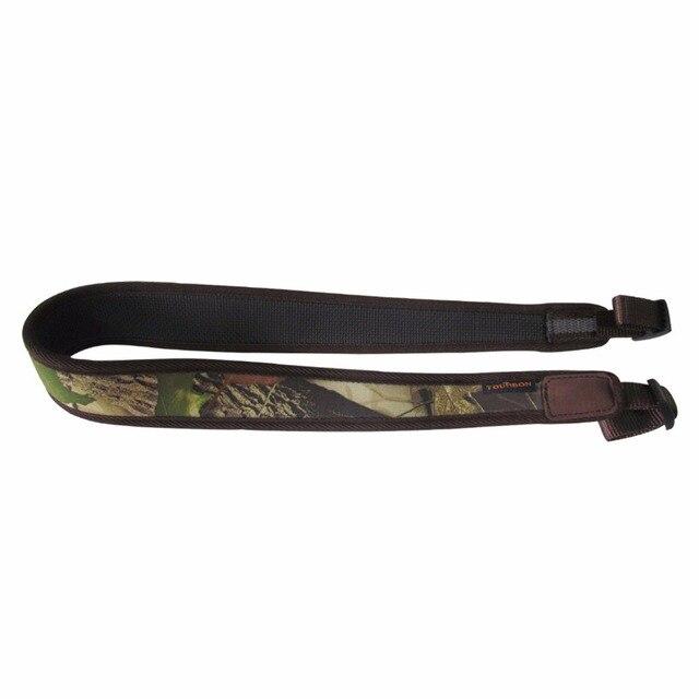 Tourbon Hunting Shotgun Sling Tactical Carry Strap Camo Rifle Belt Shoulder Strap Rubberized Non-slip