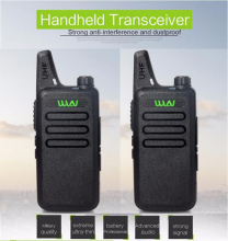 Ultra-Thin Mini Walkie Talkie WLN KD-C1 Long Range Professional Handheld Transceiver UHF Two Way Radio Communicator 2PCS Russia