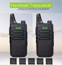 Ultra-Thin Mini Walkie Talkie WLN KD-C1 Long Range Professional Handheld Transceiver UHF Two Way Radio Communicator For Russia