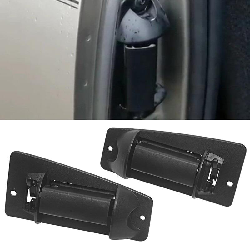 Extended Cab Pair Rear Outside Door Handle for Chevrolet Silverado /& GMC Sierra