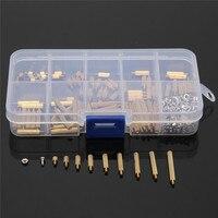 Wholesale Price 270pcs Set Brass M2 3 25mm Male To Female Brass Standoff Screw Nut Assortment