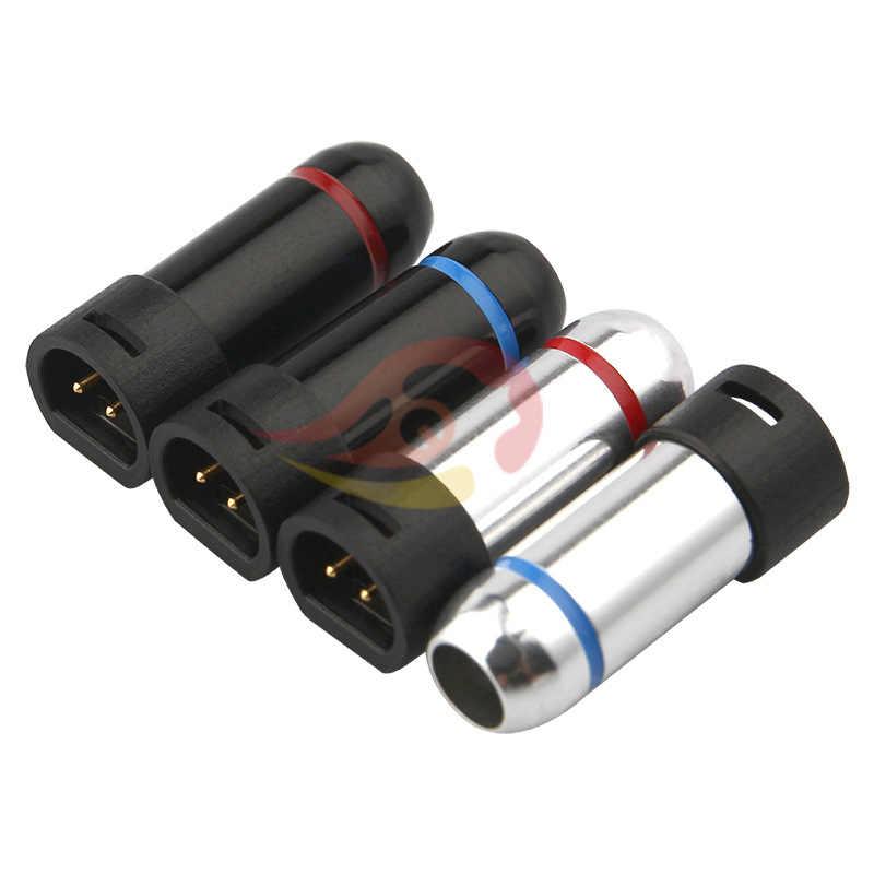 2 шт аудио разъем для наушников 2 контактный разъем Jack для IE8 IE8I IE80 DIY HiFi аудиокабель наушников припоя адаптер