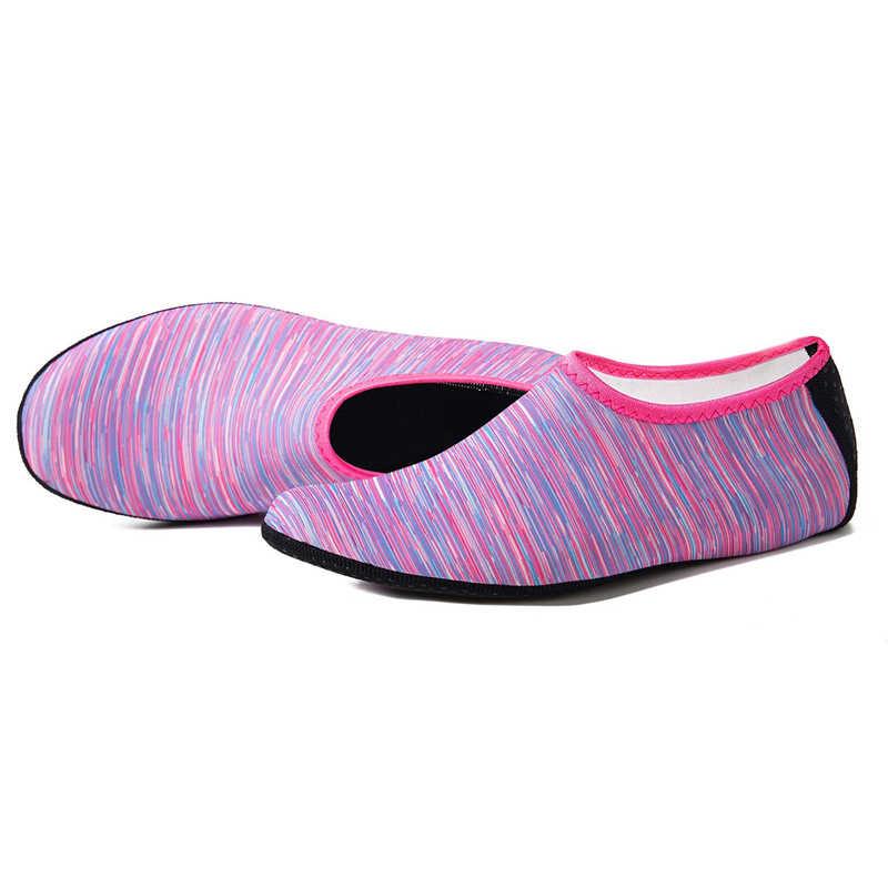Sommer Wasser Schuhe Aqua Socken Für Schwimmen Licht Sneaker Männer Frauen Aqua Strand Schuhe Non-Slip Schwimmen Meer Sneaker socken