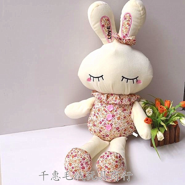 Freeshipping 70cm Love Rabbit Plush Toy Rubbit Soft Toy