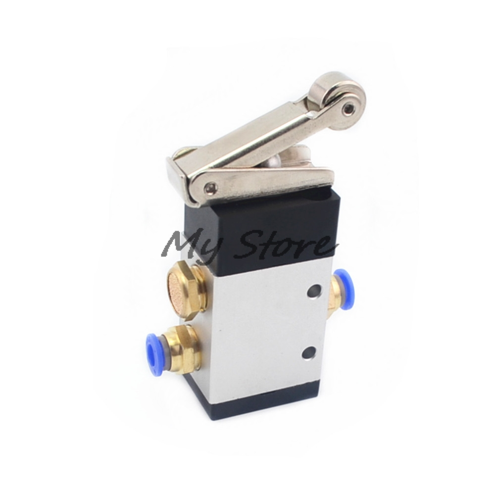 G1/4 2 Position 3 Way Roller Lever Gas Air Pneumatic Mechanical Valve casio casio aw 90h 9e page 6 page 10