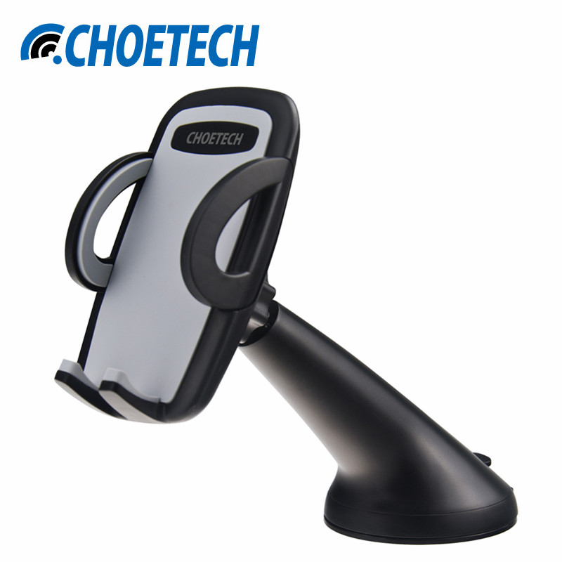 CHOETECH Car Holder Mount for iPhone 7 6, Mobile Holder with 360 Degree Rotation Holder Stand for Samsung Galaxy S8 and More