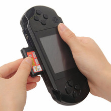 PXP3 Handheld Game Player built-in 110 Classic Slim Station Free Game Card Console Video Game Player Handheld For Child