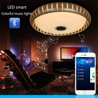 D560xH60CM Music Lighting Modern LED Ceiling Light Panel Light With WiFi Bluetooth Control Discolored Ceiling Light