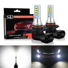 2pcs 1400LM 9006 HB4 LED Bulbs Canbus Fog Light Cree Chips 12V Car Lights Daytime Running Light DRL Lamp Driving Bulb Auto