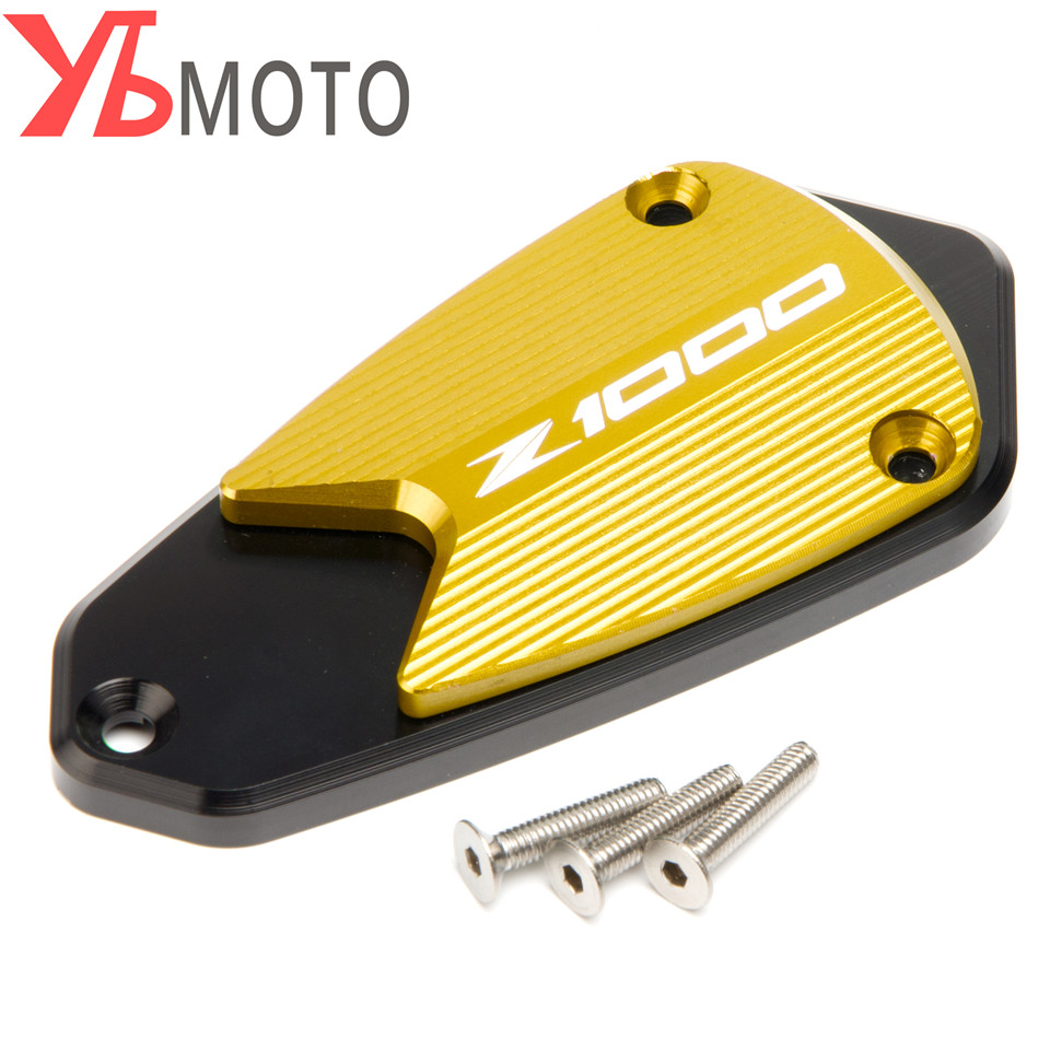 Color: Blue Fittings Motorcycle for Kawasaki Z1000 Z 1000 2010 2011 2012 2013 2014-2017 Front Brake Fluid Reservoir Cap Cover Accessories Parts