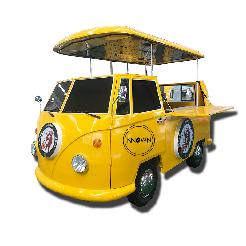 Kitchen Cooking Mobile Food Truck /food Trailer Cart / Ice Cream Cart With Free Shipping By Sea