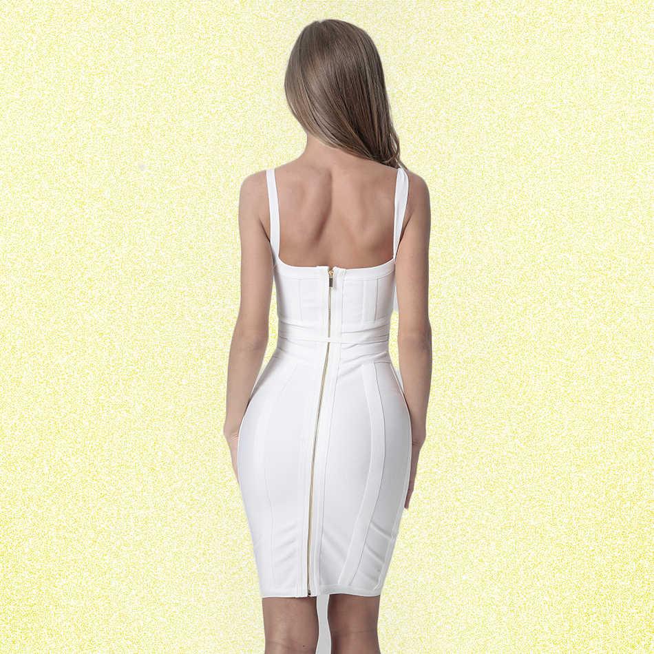 Спагетти ремни для бандажа платья 2019 выше колена без рукавов оболочка твердые Глубокий V спинки модные сексуальные Клубные вечерние платья