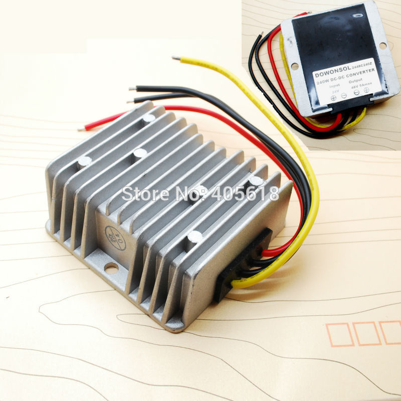 74CM 320g high voltage dc to dc converter step up step down dc to dc converter 24V-24V10A 22v 16 32v to 28v dc dc converter 10a 280w 320g 74cm for gps mp3