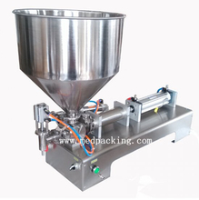 100 1000ml Single Head Cream Pneumtic Filling Machine YS PF1000 GRIND