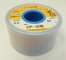 Новый фитиль для удаления припоя TAIYO, оригинальный фитиль для удаления припоя, Япония, новинка 3,0 мм 20 м, фитиль для удаления припоя